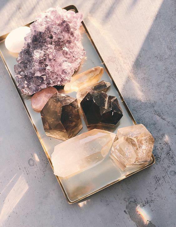 Como usar cristais para decorar sua casa?