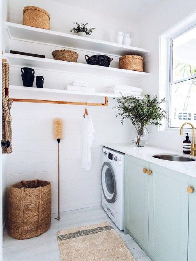 5 ideias para decorar a sua lavanderia